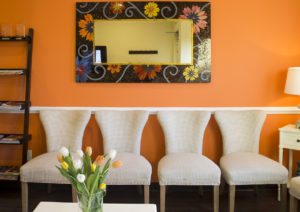 hollymead dental arts waiting room