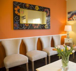 hollymead dental arts waiting room